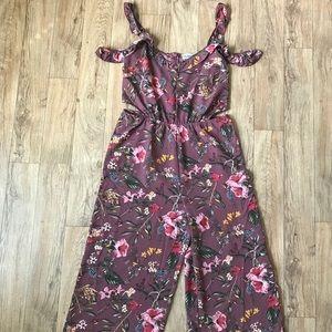 Beautiful Flower Print Jumpsuit